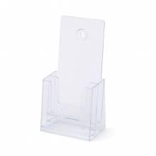 Scritto® Brochure Holder Counter/Wall 2x 1/3 A4 Portrait