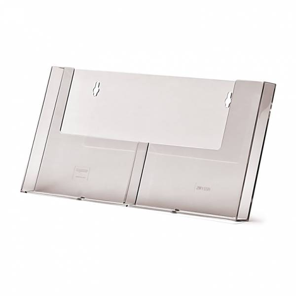 Taymar® Brochure Holder Wall 2x A5 Portrait