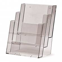 Taymar® Brochure Holder Counter/Wall 3x A5 Portrait