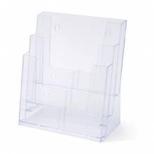 3 Tier A4 Counter Leaflet Holder