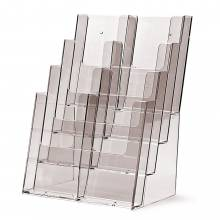 Taymar® Brochure Holder Counter/Wall 8x DL Portrait