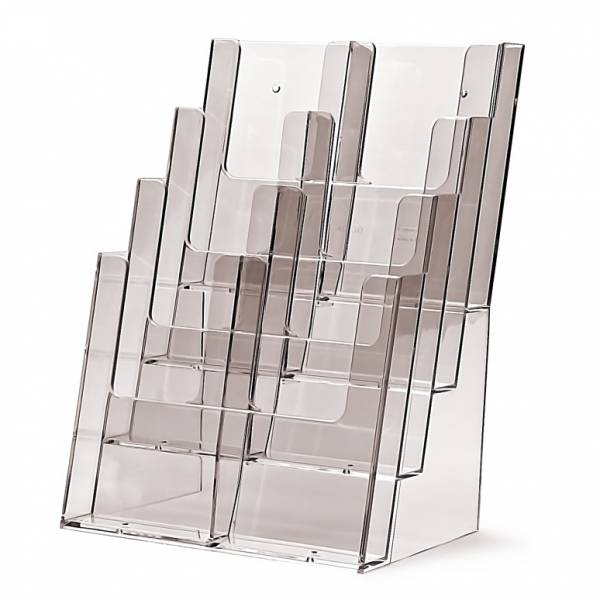 4 tier DL or A4 Counter Brochure Holder