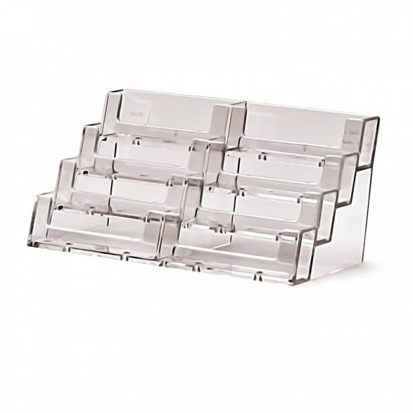 Business Card Holder Counter 8 Tier Landscape