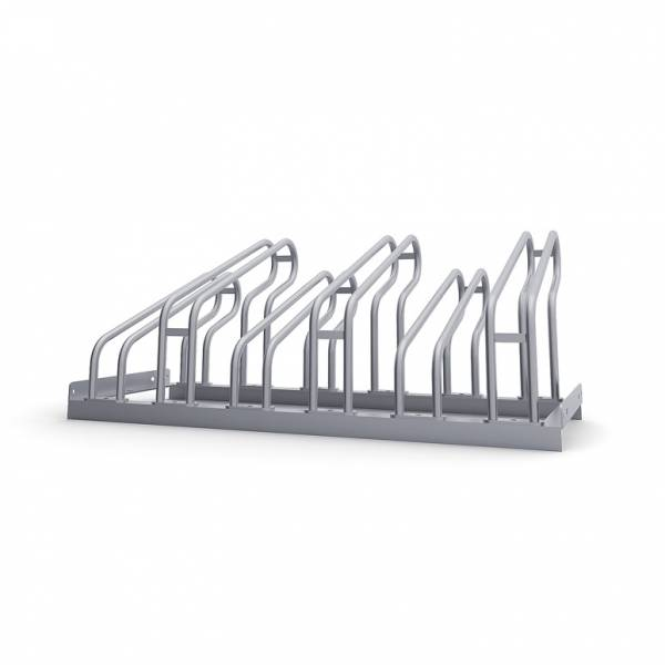 Bike Rack - Galvanised Steel Finish For up to 6 bikes