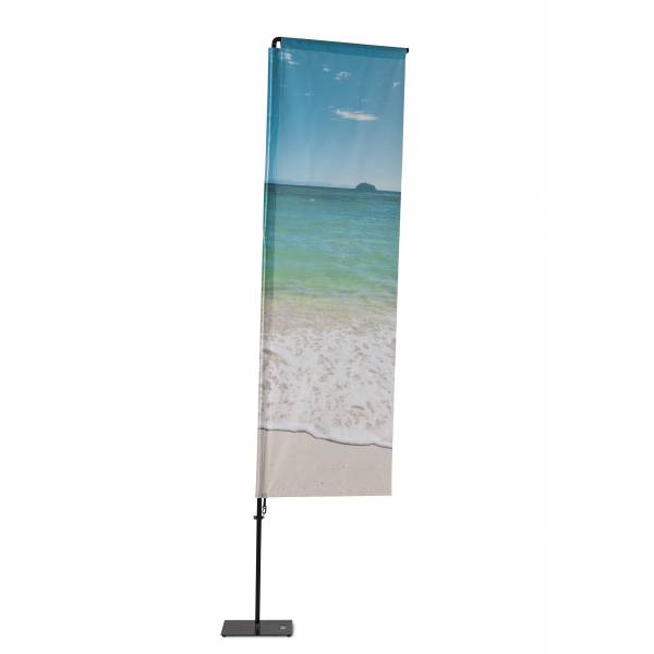 Beach Flag Alu Square