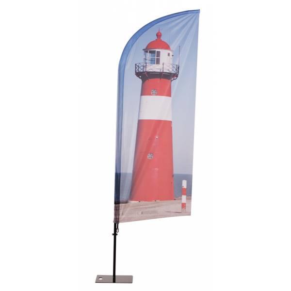 Beach Flag Alu Wind print
