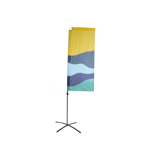 Beach Flag Budget Square Graphic