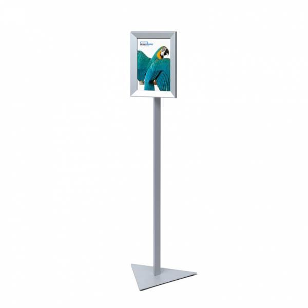 Sign Post Design TRIANGLE A4 MITRED CORNER SNAPFRAME