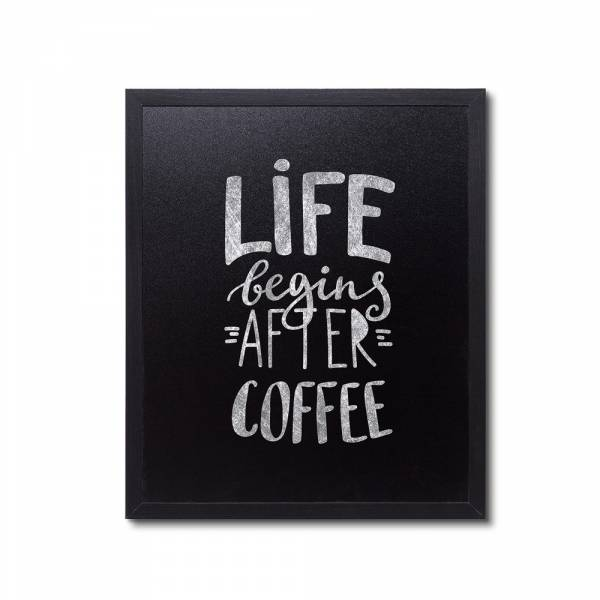 Natura Chalk Board Wall Economy Black 50 x 60 cm