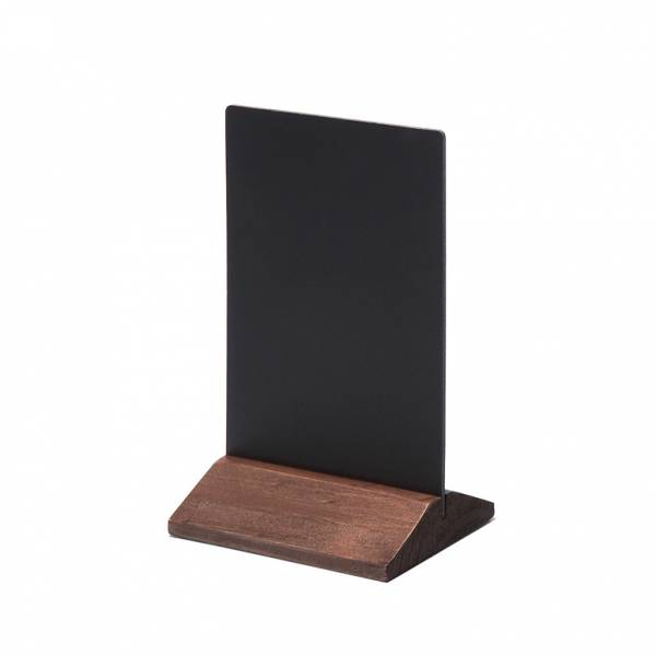 Natura Table Top Chalk Board Economy Dark Brown 10 x 15 cm