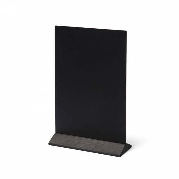 Natura Table Top Chalk Board Economy Black 21x 30 cm