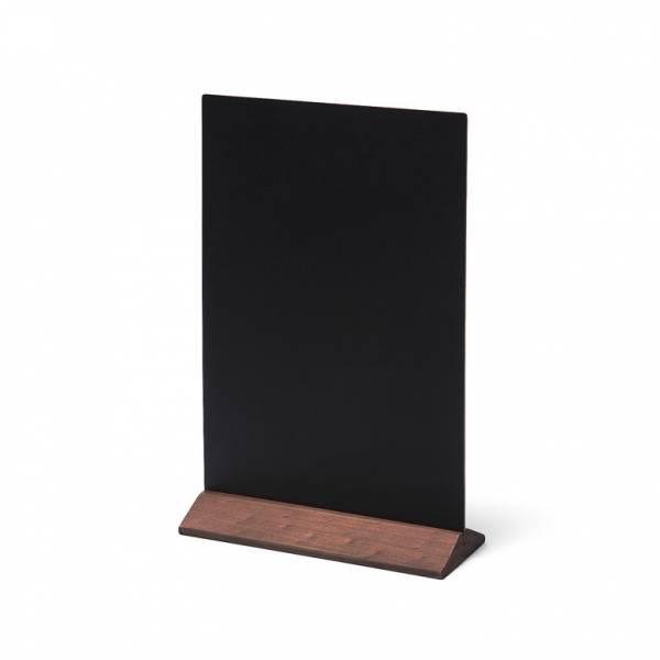 Natura Table Top Chalk Board Economy Dark Brown 21 x 30 cm