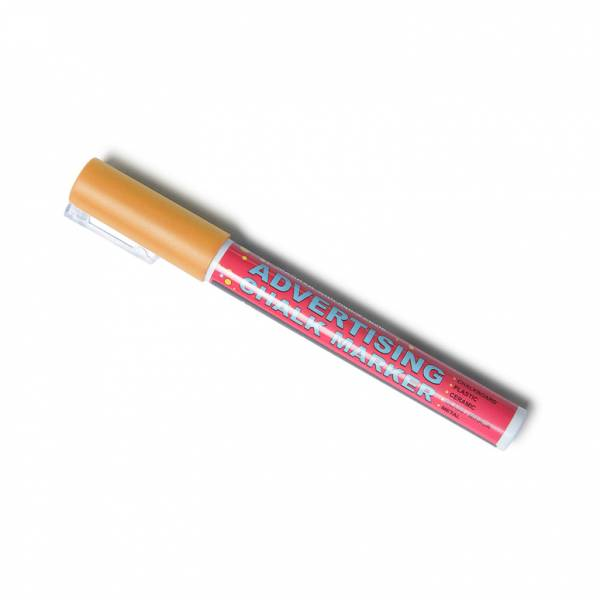 Orange Chalk Pen 3 mm