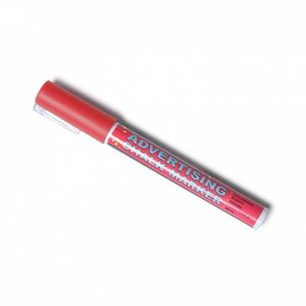 3mm Red Chalk Pen