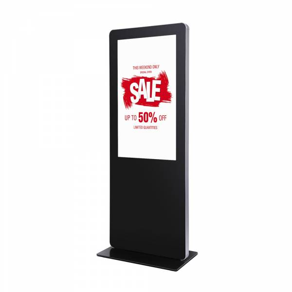 Digital Totem With Round Corners