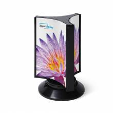 SCRITTO® Three-sided rotary menu stand A5