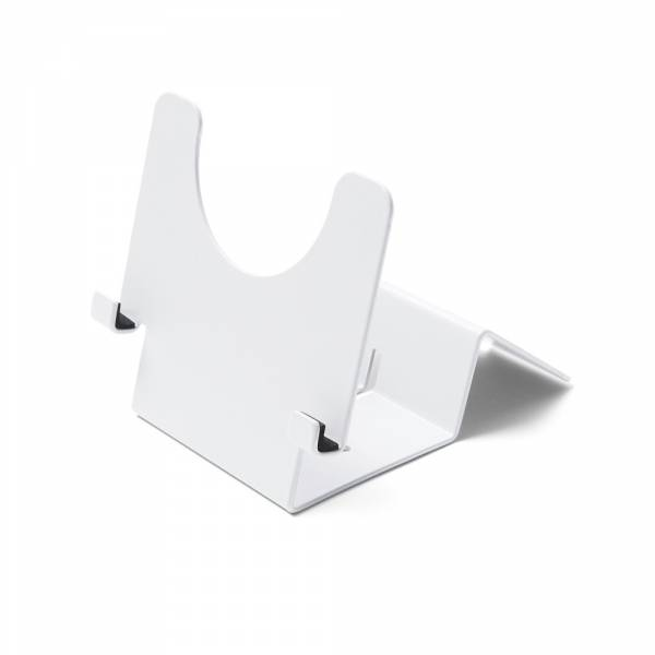 Silver Lockable Tablet Stand
