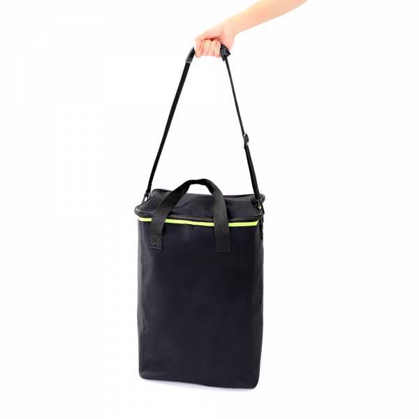 Literature Stand - Foldable - Black Bag