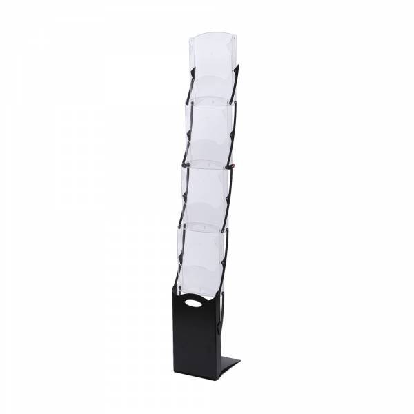Literature Stand Foldable Black