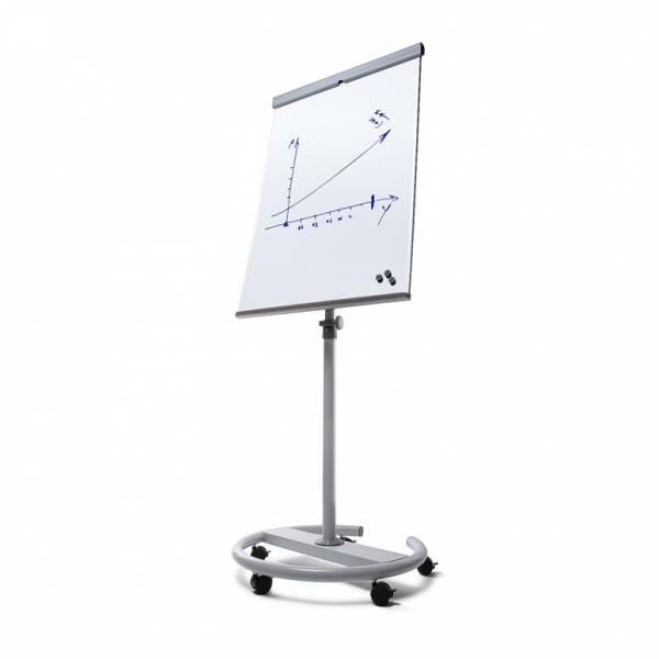 SCRITTO® Premium Magnetic Flipchart - Circular Steel Base