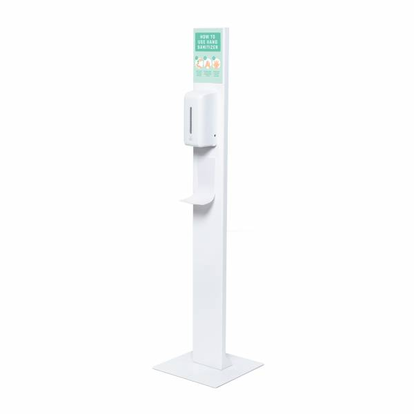 Hand Sanitiser Design Stand with Automatic Dispenser