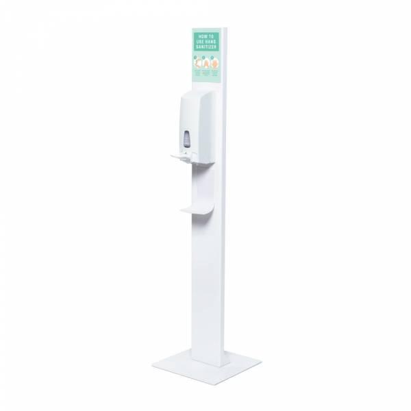 Hand Sanitiser Design Stand With Manual Dispenser