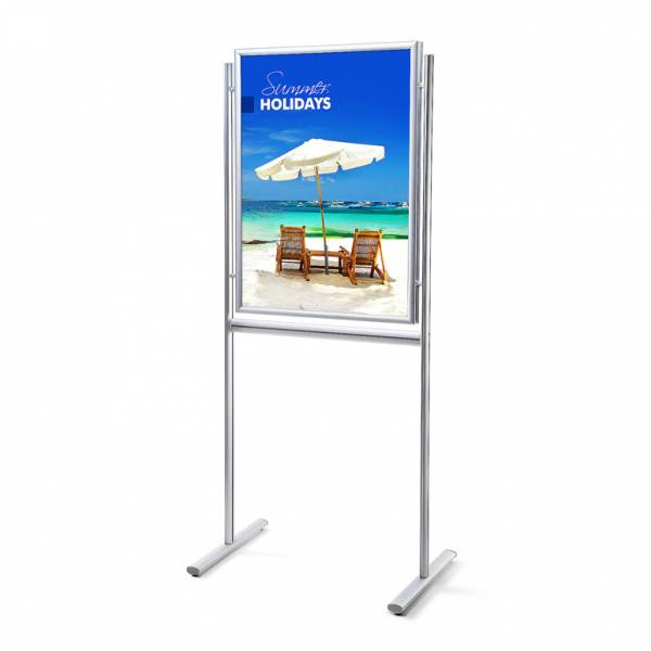 Info Board Design Standard 25 mm Mitred Corners Double-Sided 70 x 100 cm