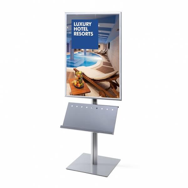 Info Pole Design Standard 25 mm Mitred Corners 70 x 100 cm