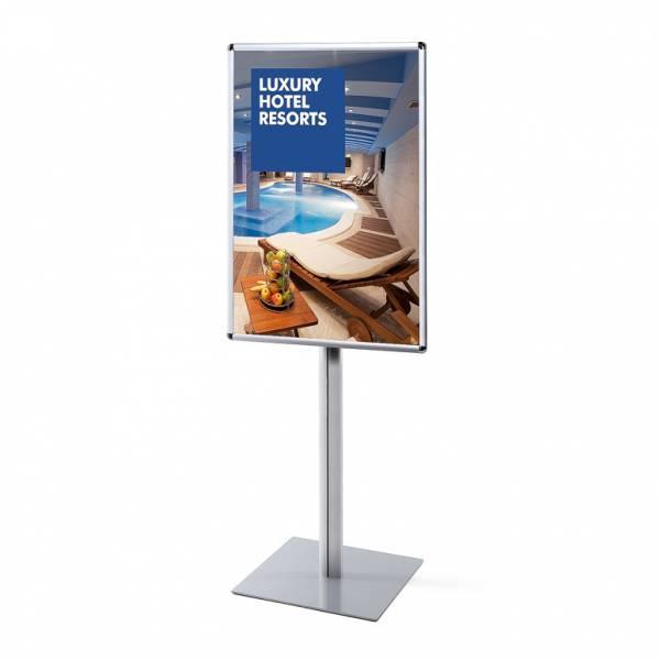 Info Pole Design Standard 25 mm Round Corners 70 x 100 cm