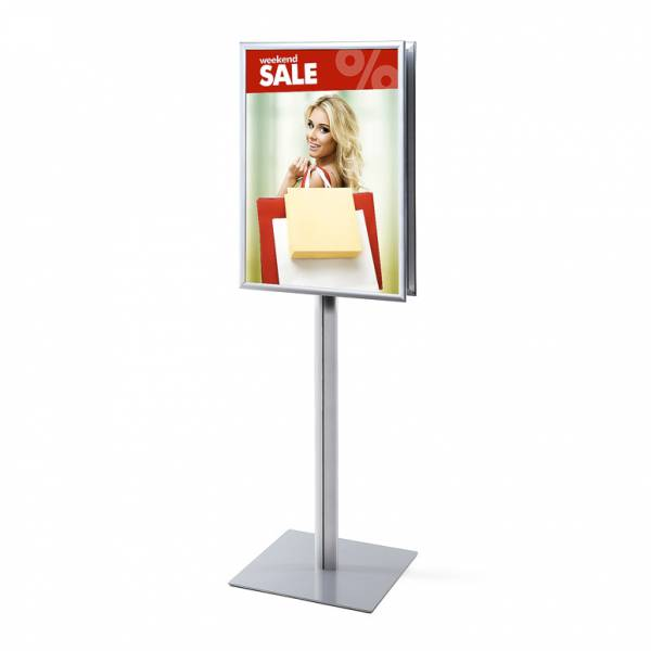 Info Pole Design Standard 25 mm Mitred Corners Double-Sided A1