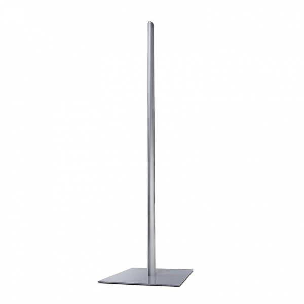 Info Pole Poster Display stand - base, post and top cap