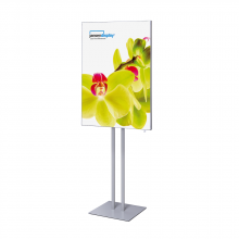 Fabric Frame Info Pole - 70x100cm