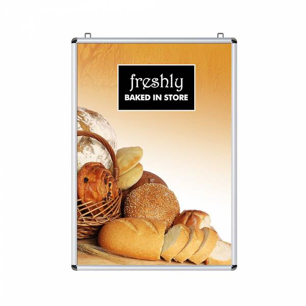 25mm Double Sided Snap Frame, Rondo Corners, 70x100
