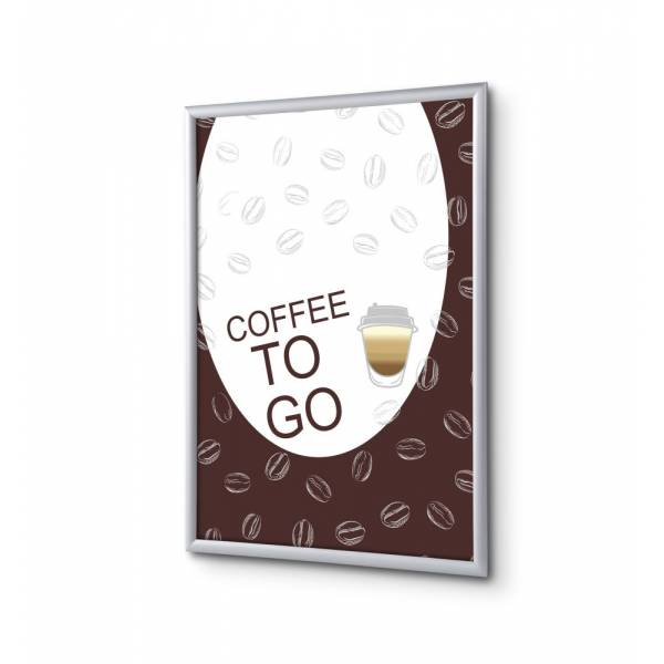 Snap Frame A1 Complete Set Coffee to go
