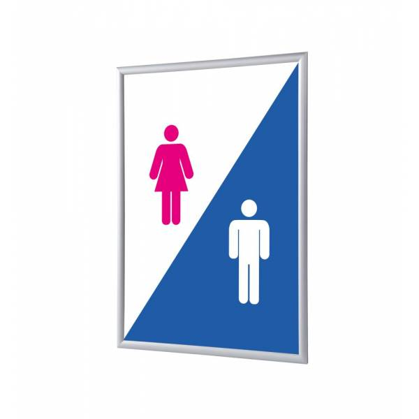 Snap Frame A1 Complete Set Hygiene Facilities