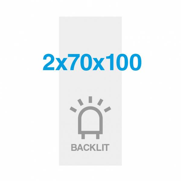 Premium Backlit Film 285g/m2 Satin Surface 70 x 200 cm