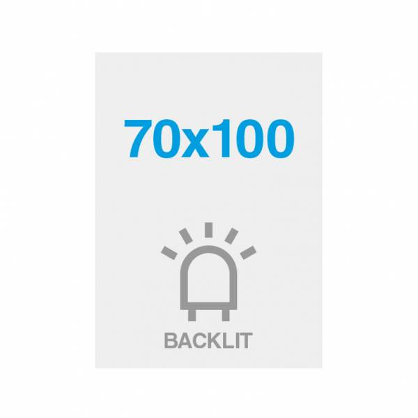 Premium Backlit Film 285g/m2 Satin Surface 70 x 100 cm