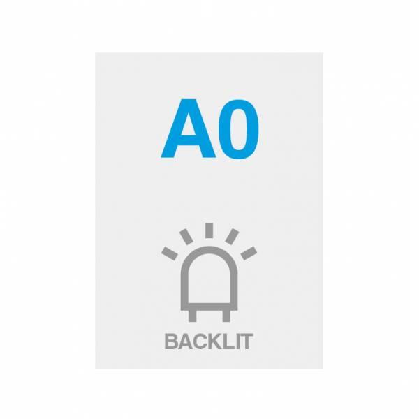Premium Backlit Film 285g/m2 Satin Surface A0