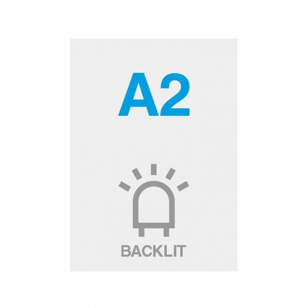 Premium Backlit Film 285g/m2 Satin Surface A2