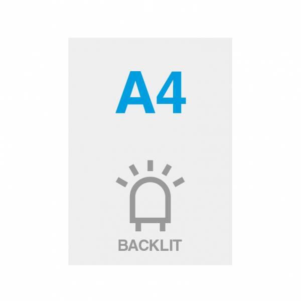 Premium Backlit Film 285g/m2 Satin Surface A4