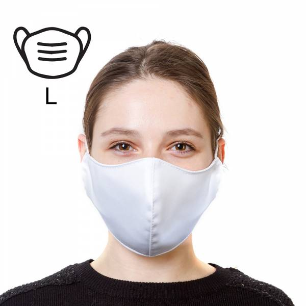 Protective Mask Large White For Adults