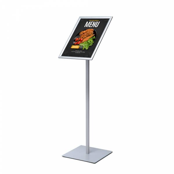 Menu Board Design Slim Poster Stand 20 mm Round Corners A3