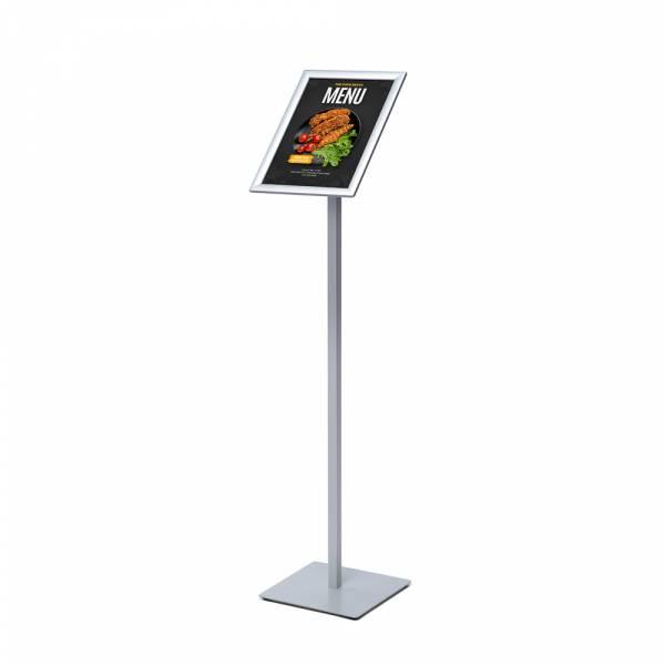 Menu Board Design Slim Poster Stand 20 mm Round Corners A4