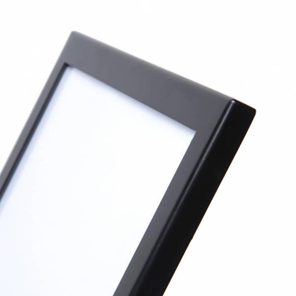 Leaflet Stand With Magnetic Pocket A4 Black