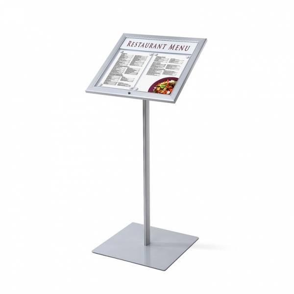 Lockable Menu Stand / LED