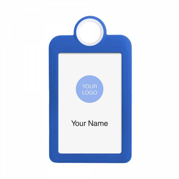 ID Card Portrait Blue
