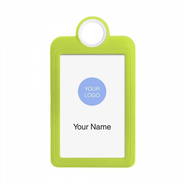 ID Card Portrait Yellow