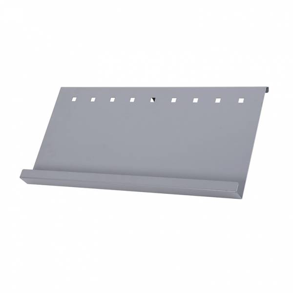 Brochure Shelf for Info Pole Standard display