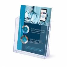 Scritto® Brochure Holder Counter/Wall 1x A4 Portrait