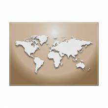 Placemat Worldmap